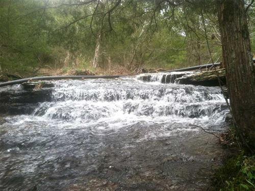 140 Acres With Year Round Creek : Quitman : Van Buren County : Arkansas