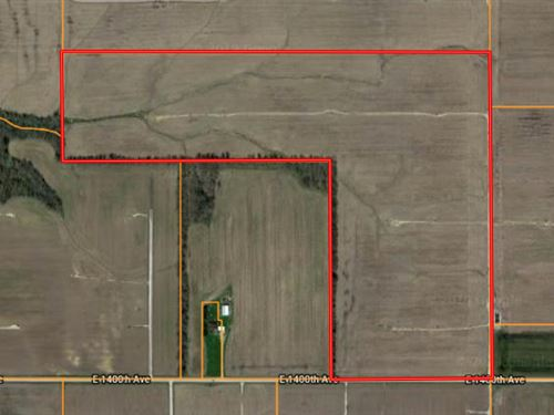 70 Acres Farm Ground Tract 2 : Oblong : Crawford County : Illinois