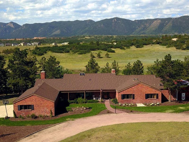 Beautiful Ranch/Great Location/Vrbo : Colorado Springs : El Paso County : Colorado