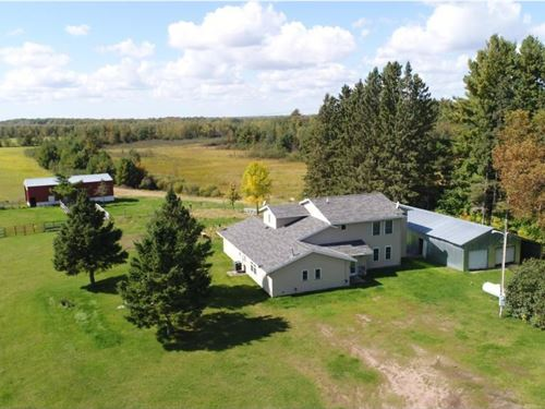 5 Bedroom Home Country, Acreage : Finlayson : Pine County : Minnesota