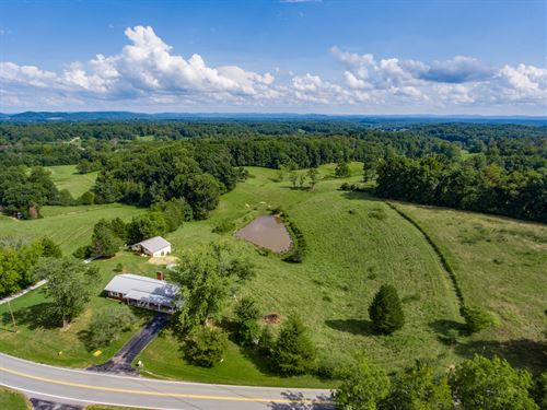 100 Ac, 2 Lovely Homes, Pasture : Hilham : Overton County : Tennessee