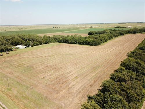 78.3 Acres Cropland & Hunting : Caldwell : Sumner County : Kansas