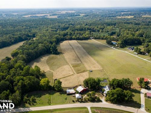102 Acre Cattle Farm With Timber : Salisbury : Rowan County : North Carolina