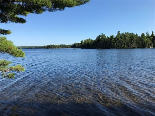 Large Lakefront Lot in Maine : Lakeville : Penobscot County : Maine