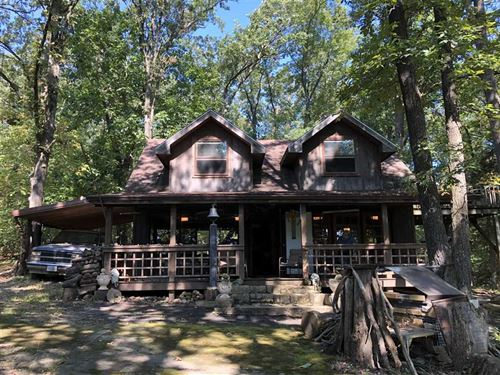 50 Acres With Two Cabins in St : Collins : Saint Clair County : Missouri