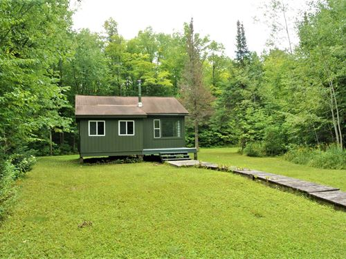 180958, Cabin + 40 Ac : Emery : Price County : Wisconsin