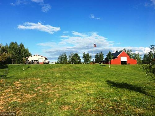 40 Acre Hobby Farm Northern MN : Askov : Pine County : Minnesota