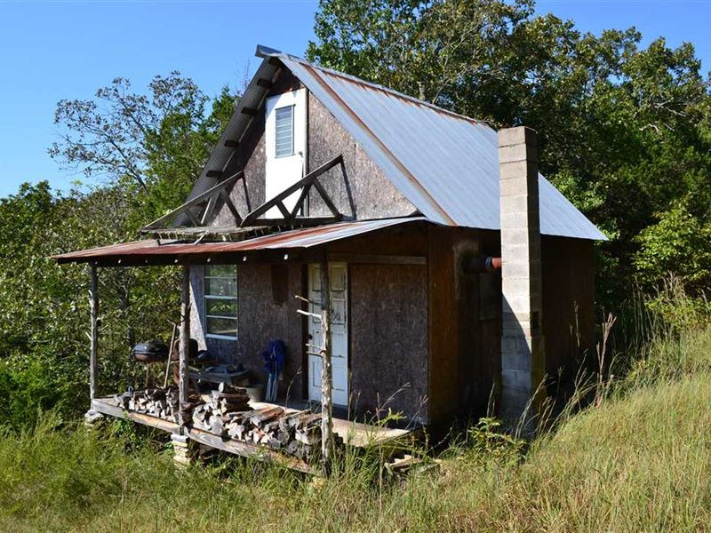 Secluded 80 Acres With Hunting : Mountain Home : Baxter County : Arkansas