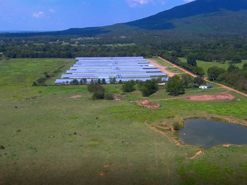 Large Broiler Farm With 40 Acres : Poteau : Le Flore County : Oklahoma