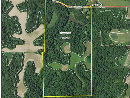 Hunting Farm With 3Br 3Ba Home : New Canton : Pike County : Illinois