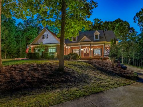 Custom Brick Home On 27+ Acres : Loganville : Walton County : Georgia