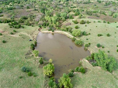 Price Reduced, 180 Acres of Pas : Kanopolis : Ellsworth County : Kansas