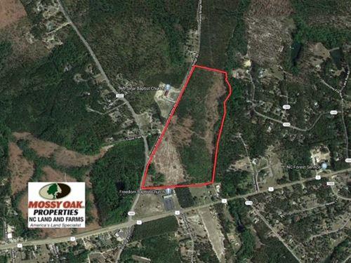67 Acres of Development Land For : Rockingham : Richmond County : North Carolina