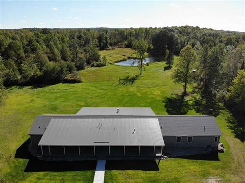 200 Acres Harrison, MI 8-Bedroom : Harrison : Clare County : Michigan
