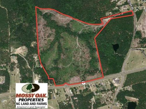 83 Acres of Development Land For : Rockingham : Richmond County : North Carolina