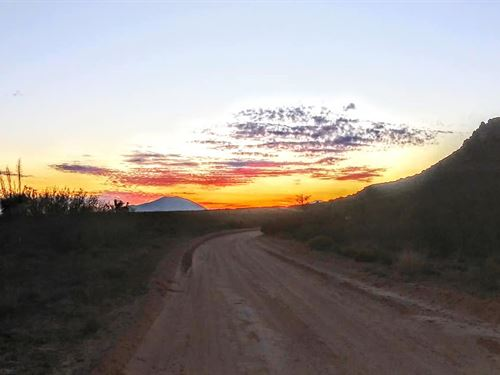 100 Acres $498/Mo, Near Mountains : Sierra Blanca : Hudspeth County : Texas