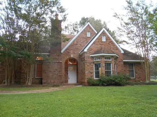 Custom Built Home 11 Acres Franklin : Smithdale : Franklin County : Mississippi