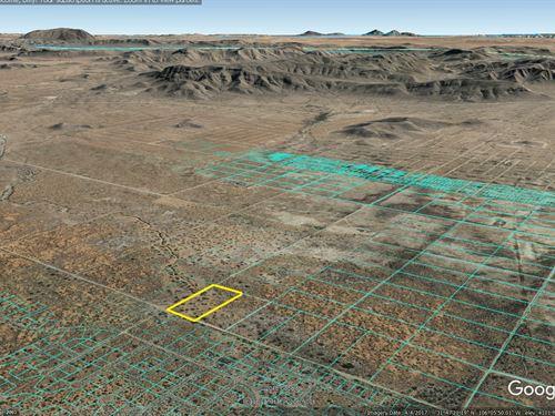 5 Acres El Paso County Tx : El Paso : Texas