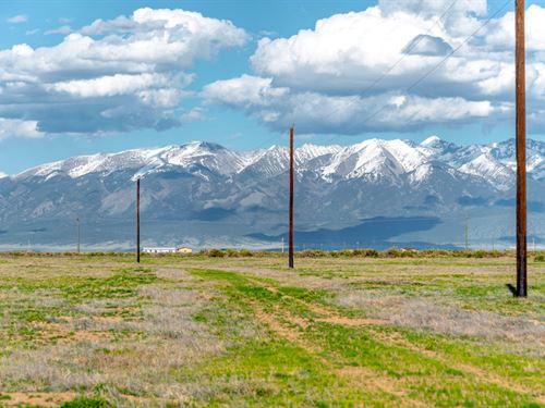 Land Minutes From Fishing : Alamosa : Colorado