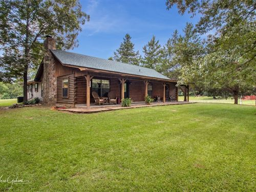 Reduced, Log Cabin For Sale On 51 : Benton : Bossier Parish : Louisiana