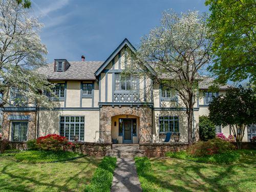 Friendly Hills Historic Home : Tryon : Polk County : North Carolina
