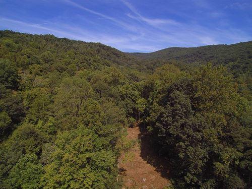 Long Range South Facing Views : Independence : Grayson County : Virginia