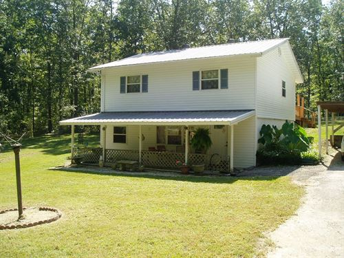 Four Bedroom Two Bath Home : Wappapello : Wayne County : Missouri