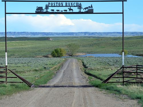 Poston Ranch : Riverton : Fremont County : Wyoming