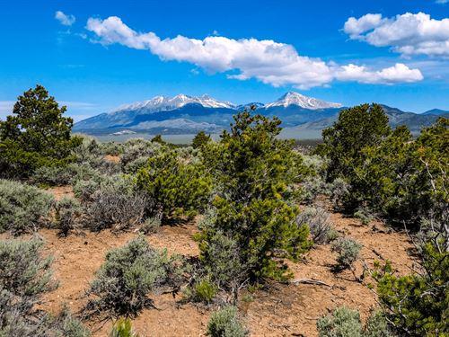 Rocky Mountain Views, Trees, $199/M : Fort Garland : Costilla County : Colorado