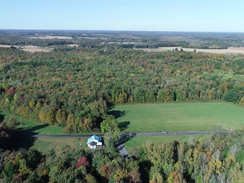 Private Country Setting, Mixture : Lysander : Onondaga County : New York