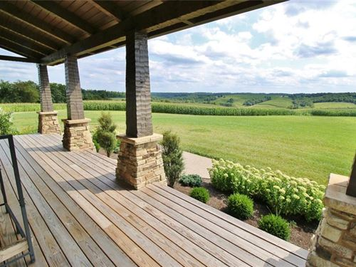 273 Acres With Custom Home : Zanesville : Muskingum County : Ohio