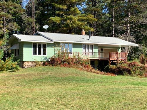 181195, Tomahawk River Ranch Home : Minocqua : Oneida County : Wisconsin