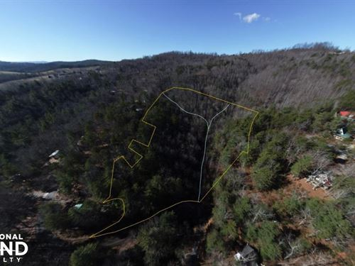 Large Wooded Lot in Whimsical Mount : Hendersonville : Henderson County : North Carolina