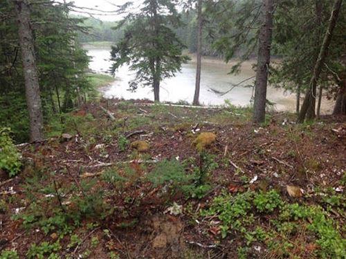 Coastal Land Lot For Sale in Maine : Lubec : Washington County : Maine