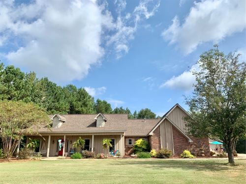26.3 Acres With A Home In Choctaw : Ackerman : Choctaw County : Mississippi