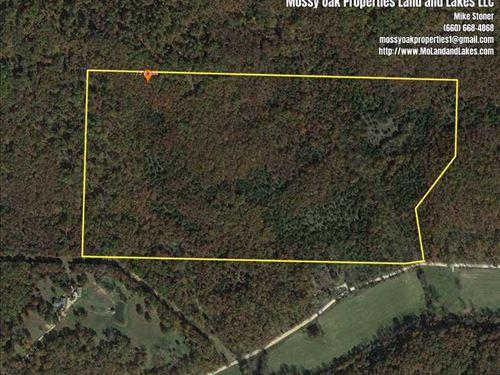 Great 78 Acre Hunting Tract Morgan : Versailles : Morgan County : Missouri