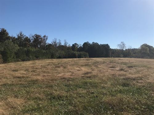 Large Pastured 15 Acre Lot : Pittsboro : Chatham County : North Carolina