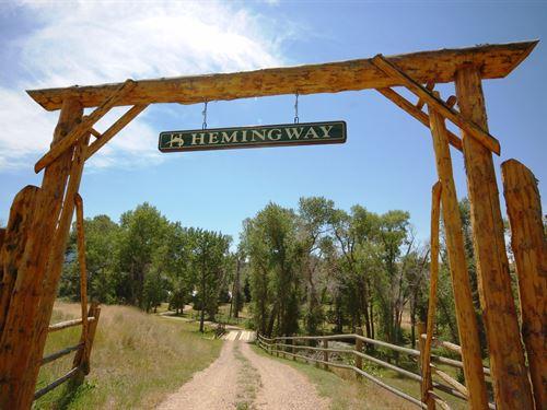 Hemingway Ranch : Ennis : Madison County : Montana