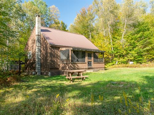 Deer Hunting Camp Springfield : Springfield : Penobscot County : Maine