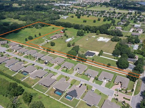 Old Berkley Road Homesite : Auburndale : Polk County : Florida