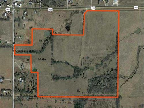 106 Acres Of Excellent Grass : Tyro : Montgomery County : Kansas