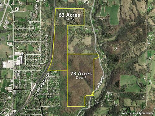 No Reserve Land Auction : Excelsior Springs : Clay County : Missouri