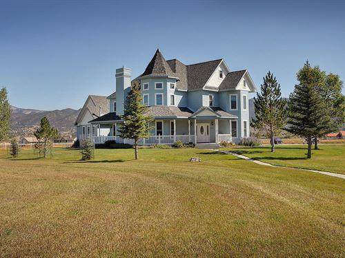 Queen Anne Victorian Beauty : Salida : Chaffee County : Colorado