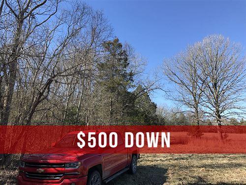 $500 Down On 7 Acres Near Lake : Cedarcreek : Taney County : Missouri