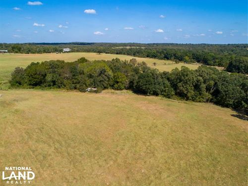 46 Acres Cattle Tract, Rolling : Athens : Henderson County : Texas