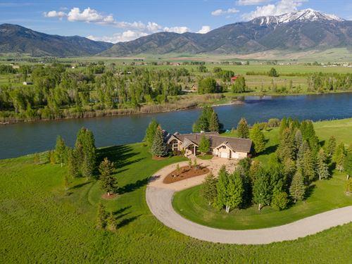 Indian Creek Ranch : Swan Valley : Bonneville County : Idaho