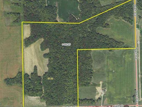 87.33 Acres Incredible Hunting Land : Keosauqua : Van Buren County : Iowa