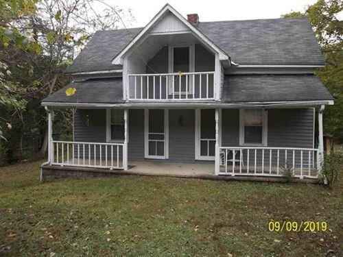 1925 Farmhouse 21.5 Acres Grainger : Washburn : Grainger County : Tennessee