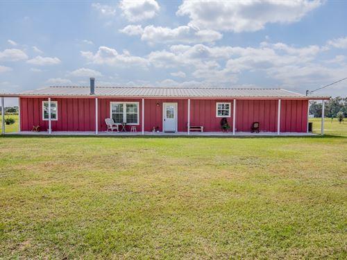 Country Home Acreage, Buffalo, TX : Buffalo : Leon County : Texas