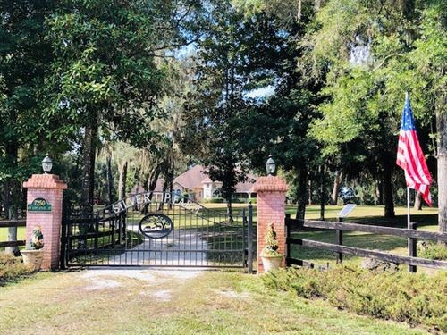 3/2 Home On 85 Acres 778760 : Chiefland : Levy County : Florida